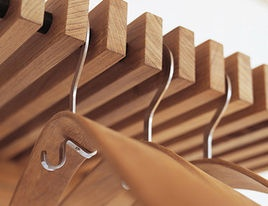 Storage & Closets Products Curved Rod