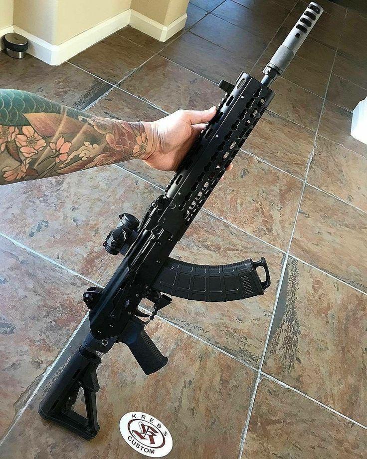Credit to @krebs_custom : Krebs rifle shooter @john_mendoza sent us this great pic of his new KV-13 Mod2! How about one with some trigger time?  We still have KV-13 Mod2 available in 5.45 and 7.62!  #krebscustom #krebs_custom #kv13mod2 #vepr #akinnovate #purist_shed_a_tear #custom #pewpewlife #pewpewpew #molonlabe #wethepeople #america #igmilitia #ak47 #ak74  #762x39 #545x39 # #kalashnikov #kalashnilyfe #akfanatics #weaponsdaily #gunchannels #dailygundose #gunsfanatics #weaponsfanatics ...