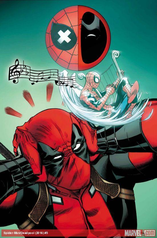 SpiderManDeadpool (2016) #5Qué diablos significa esta imagen Cubierta ?! Tengo que agarrar esta mag para averiguar, los verdaderos creyentes. ¡MÁS! La verdad sobre la rareza de que en Parker Industrias comienza a ser revelado!
