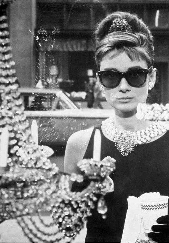 Audrey Hepburn: Breakfast at tiffanys.. favorite movie
