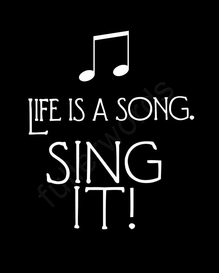 Life is a Song. Sing It - 8x10 digital printable word art. $5.00, via Etsy. (scheduled via http://www.tailwindapp.com?utm_source=pinterest&utm_medium=twpin&utm_content=post4751496&utm_campaign=scheduler_attribution)