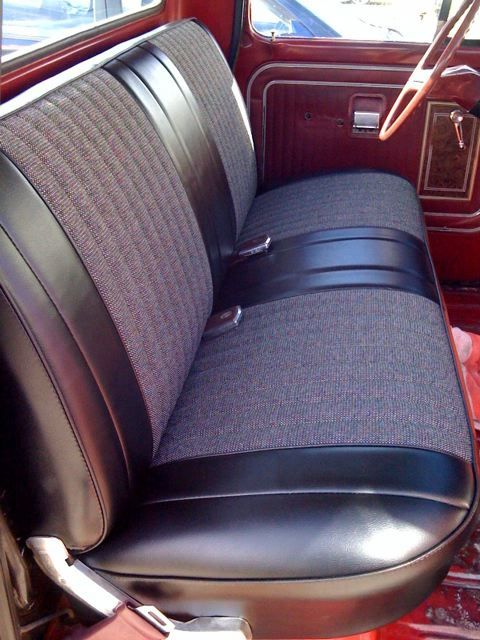 custom bench seat upholstery wagoneer com forums view topic let 39 s see some custom. Black Bedroom Furniture Sets. Home Design Ideas