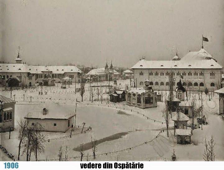 Parcul Carol I – Expoziţia Generală Bucureşti, imagini de iarnă [serie] | theNow | Trecutul la timpul prezent
