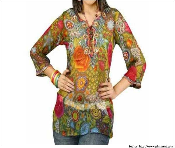 Printed-Kurtis-and-Jeans-for-Girls