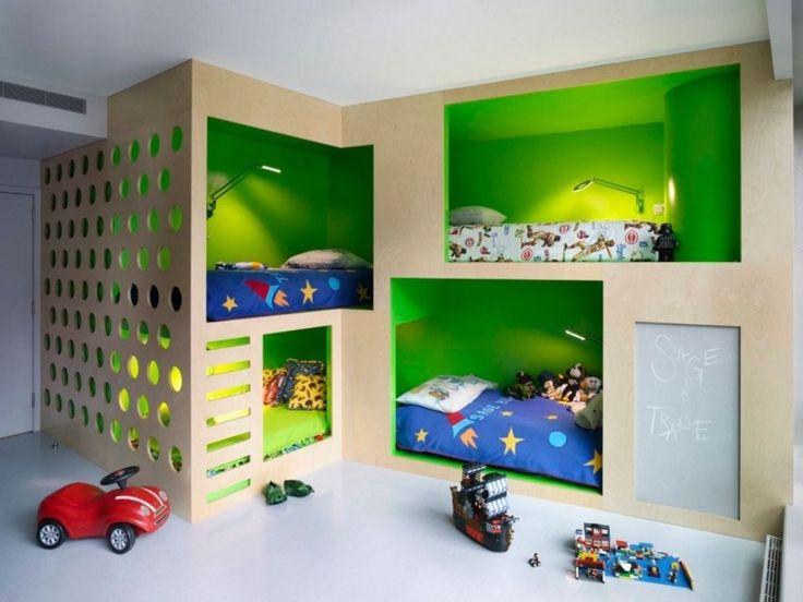 lit pour enfant cabande : idée pour chambre de garçons