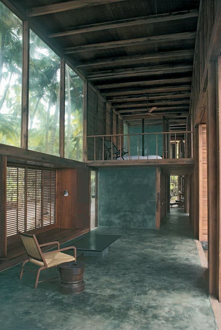 Strandhaus Nandgaon Beach House in Nandgaon by Studio Mumbai