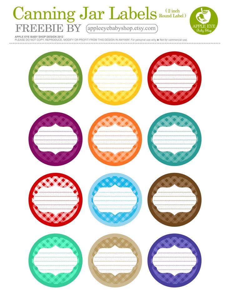 25+ best ideas about Canning jar labels on Pinterest ...