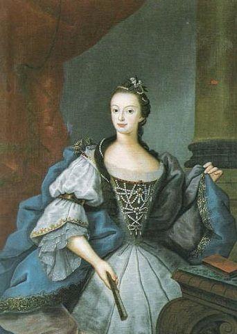 Maria I of Portugal, 1753 (Vieira Lusitana) (1699-1783)    Palácio Nacional de Queluz, Distrito de Lisboa