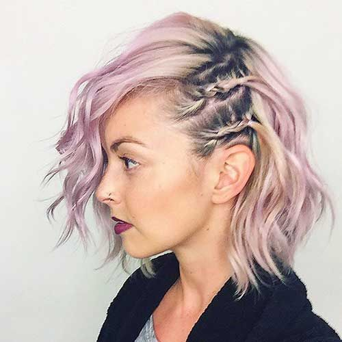 Most Beautiful Braided Short Hairstyles for Ladies | The Best Short Hairstyles  for Women 2016