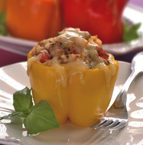 Lean & Green Medifast Recipes: Smoky Stuffed Peppers http://leangreenrecipes.blogspot.jp/2012/06/smoky-stuffed-peppers.html