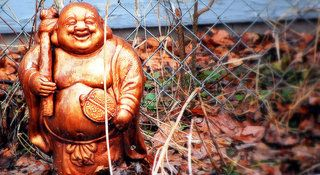 Laughing Buddha Meaning and Positions, Types of Laughing Buddha - I am very fond of collecting laughing Buddhas. They looked great, spread all over my house, and I strongly believed that they are oozing of Good Luck and will soon get me great fortunes.