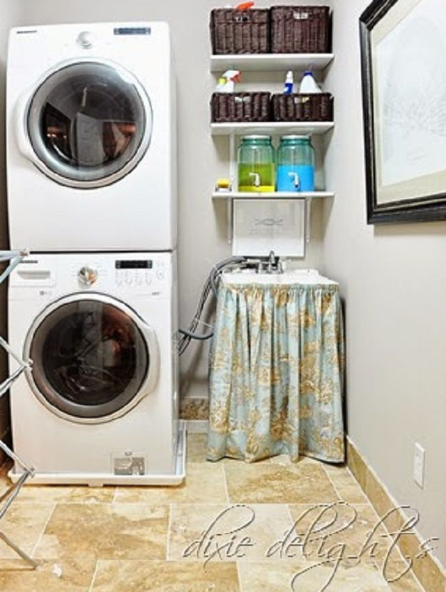 Create Fabulous Style in a Small Laundry Room: Every Laundry Room Needs A Great Sink