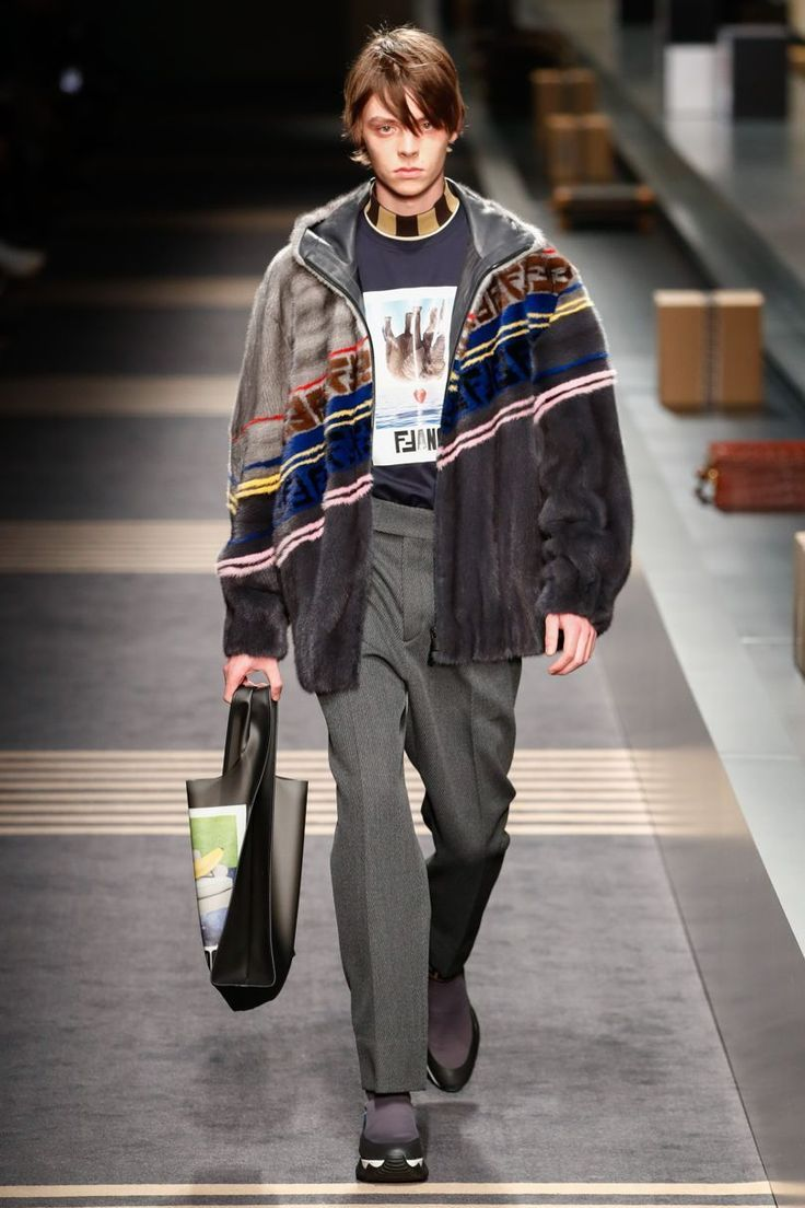 Fendi autumnwinter menswear steez pinterest fashion
