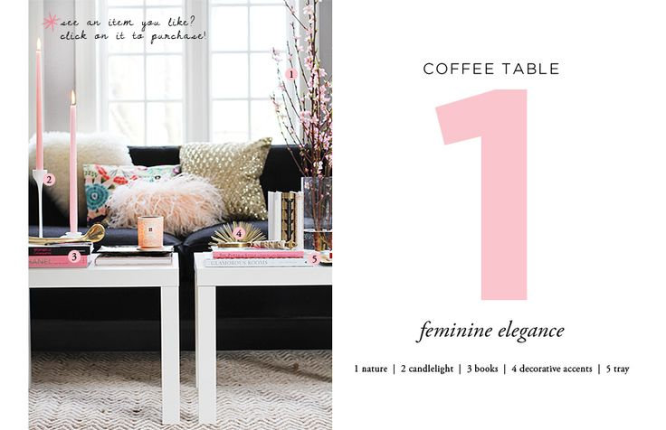 How to Style a Coffee Table: Interior, Ikea Table, Side Table, Coffee Tables, Idea, Living Room, Styles, Design