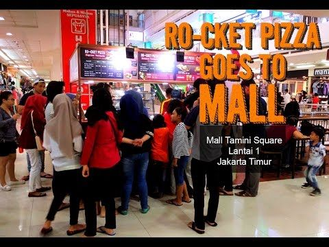 Rocket Pizza Indonesia Goes to Mall
