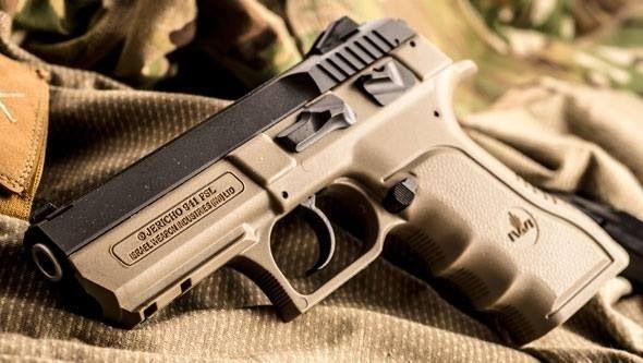 IWI Jericho pistol.....IIIIii IIIII Want THAT!