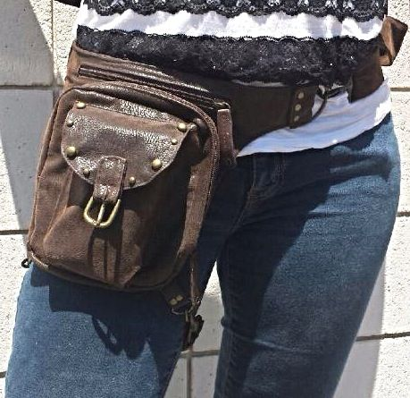 My newest project!  Hands free convenience! More secure than a regular purse!  Great for Concealed Carry!