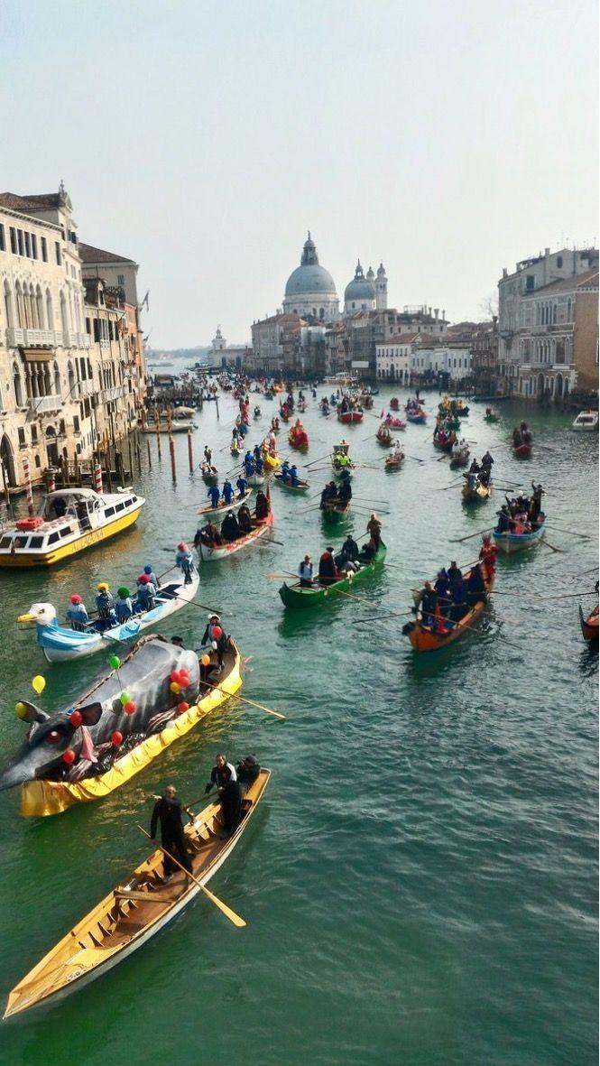 Il Canal Grande e Carnevale di Venezia 2017