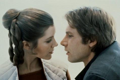Leia & Solo: Carrie Fisher, Harrison Ford, Stars, Star Wars, Movie, Han Solo, Starwars, Princess Leia