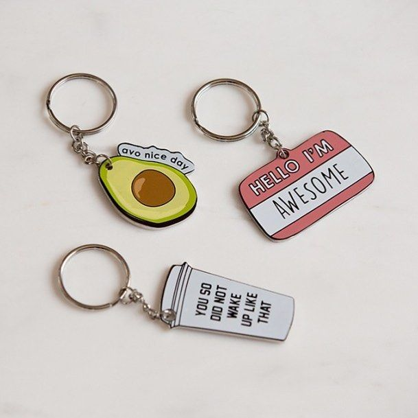 Avo nice day with these new keyrings