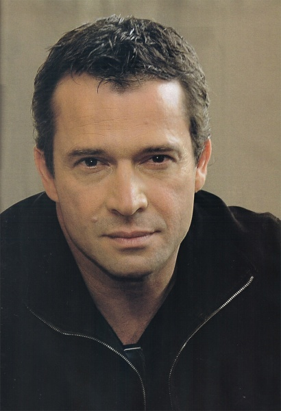 "James Purefoy -his portrayal of Prince Edward in ""A Knight's Tale"" melted me right onto the floor every time he uttered a syllable. :)"