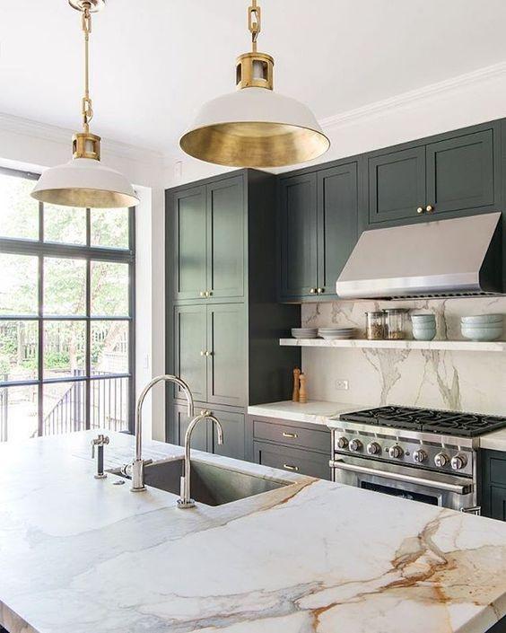 Green Kitchen Dresser: 1000+ Ideas About Green Kitchen Cabinets On Pinterest
