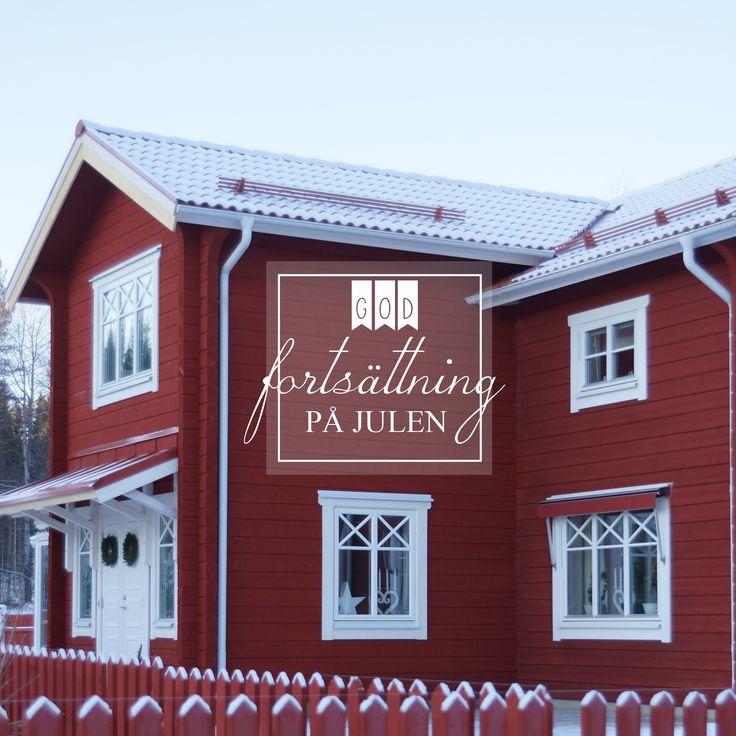 My home; timberhouse, timmerhus, Forsgrens Timmerhus, xmas, snow, Dalarna, Sweden