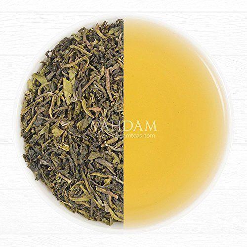 Organic Green Tea Green Leaves from Himalayas(50 Cups),100% Natural Detox Loose #VahdamTeas