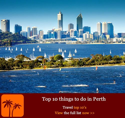 Top 10 things to do in Perth. Known as the sunniest city Down Under, Perth is a buzzing riverside metropolis bordered by the Indian Ocean to the west and the ancient Darling Range to the east. Follow our guide for 10 great things to do in the vibrant capital of Western Australia (WA), a youthful city packed with endless beaches, bustling markets, exquisite parklands and a skyline to rival Manhattan