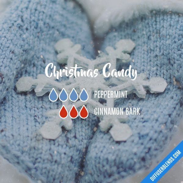 Christmas Candy - Essential Oil Diffuser Blend