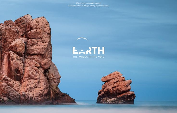 Visit the Earth - Concept on Branding Served