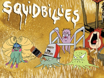 """Squidbillies.  """"And thank ya fer the untimely frost which clamed my bananer orchard. Oh, I was a fool ta plant bananers on a mountain! You made sure of that. So, in short, thanks for nothin'."""""""