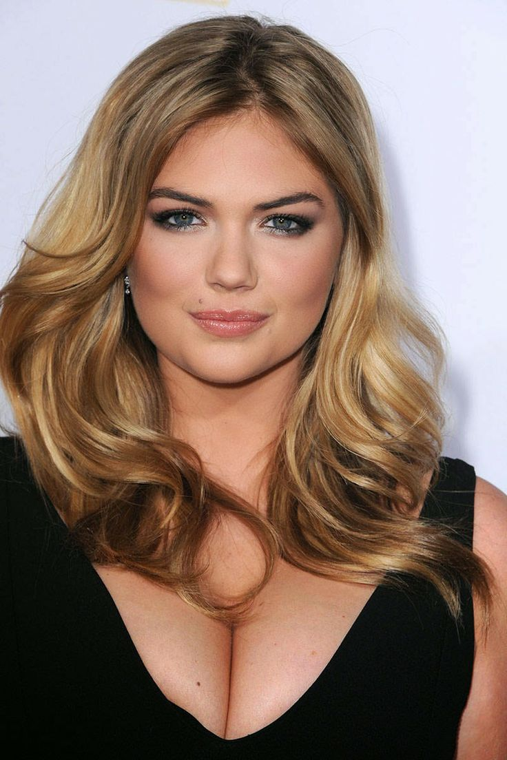 kate upton hair. For the fall!!  I love her hair.