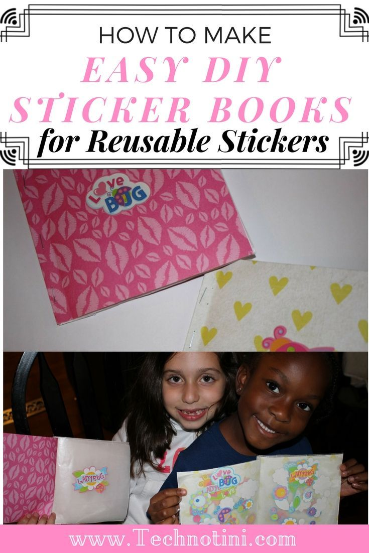 How To Make Easy Diy Sticker Books For Reusable Stickers That Look Fabulous Our Sutton Place Diy Stickers Sticker Book Sticker Collection Book