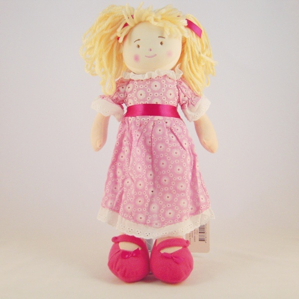 Pretty In Pink Rag Doll