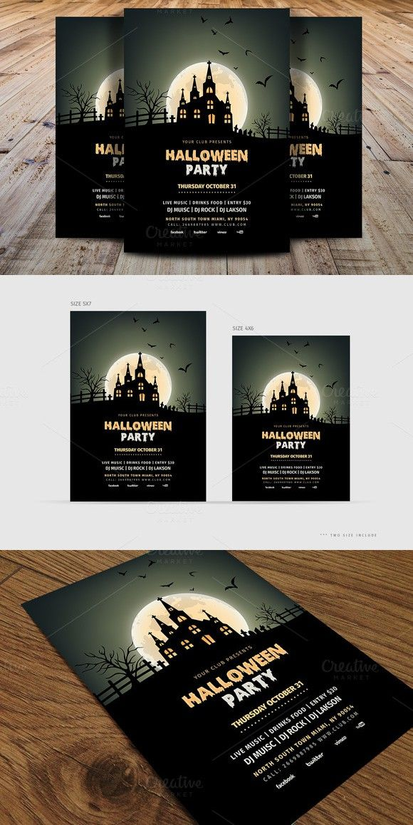 Halloween Party Flyer Template V1