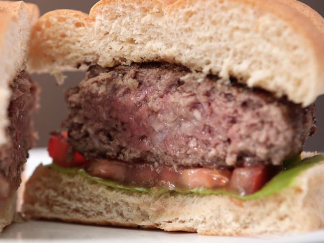 How to make your juiciest burger yet -- using butter!