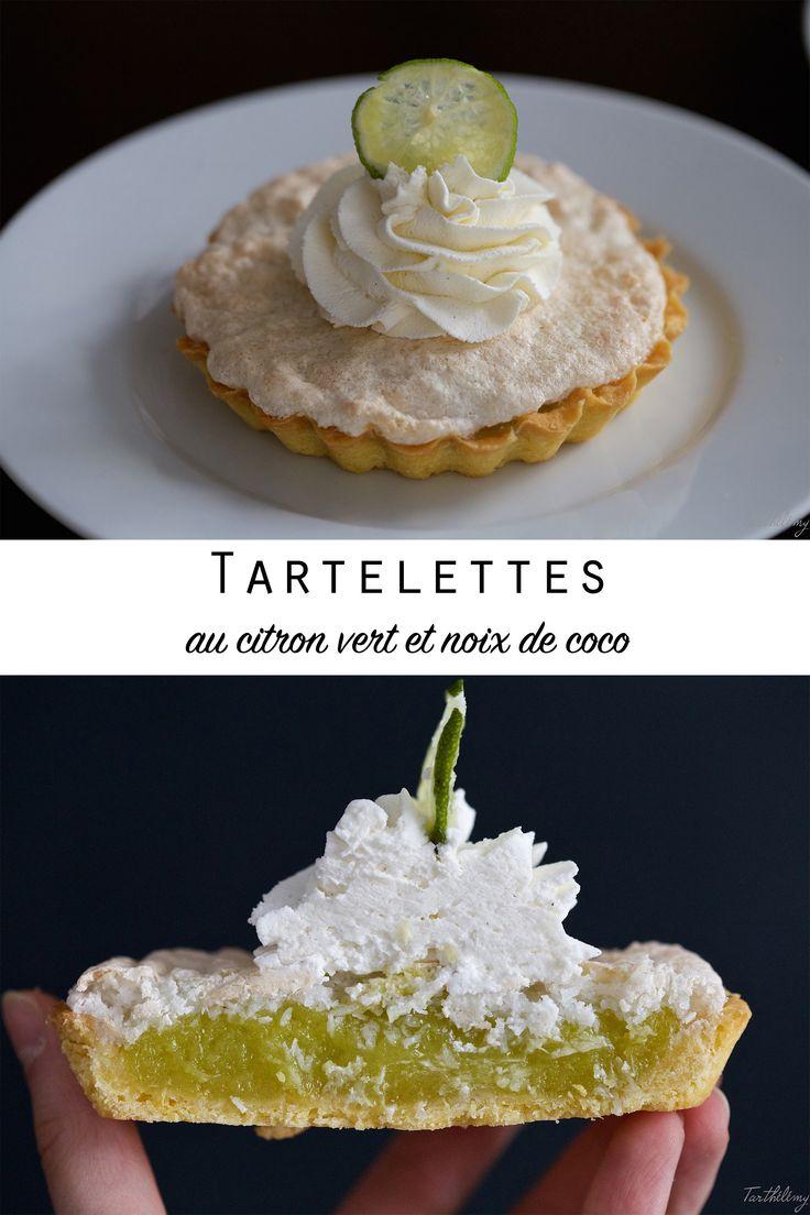 Tartelettes au citron vert et noix de coco (pas à pas) | Cuisine en Scène, le blog cuisine de Lucie Barthélémy - CotéMaison.fr