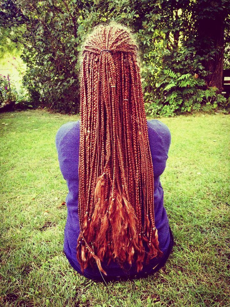 ❤ long braids ❤ // hairstyles // longhair // braids // summer