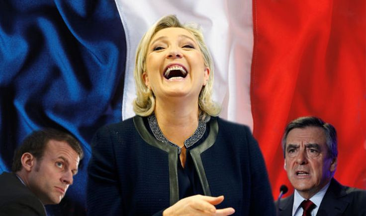 MARINE Le Pen has rocketed into the lead in the race to become France's next president - just months ahead of the country's general election.