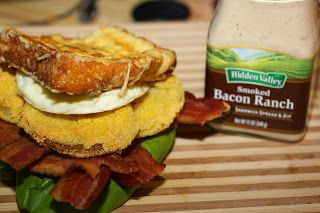 ... Ultimate B.E.L.T. {Bacon, Egg, Lettuce, & Fried Green Tomato} Sandwich