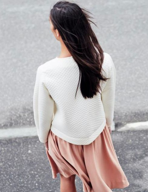 Pale Pink and White | Spring Style