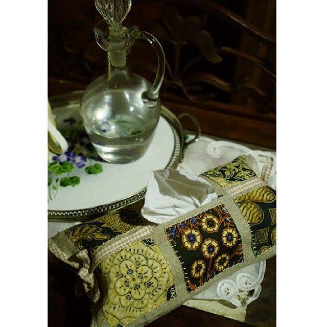#tempat #tissue #perca #batik