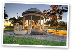 Balmoral Beach rotunda and Public dining rooms Balmoral