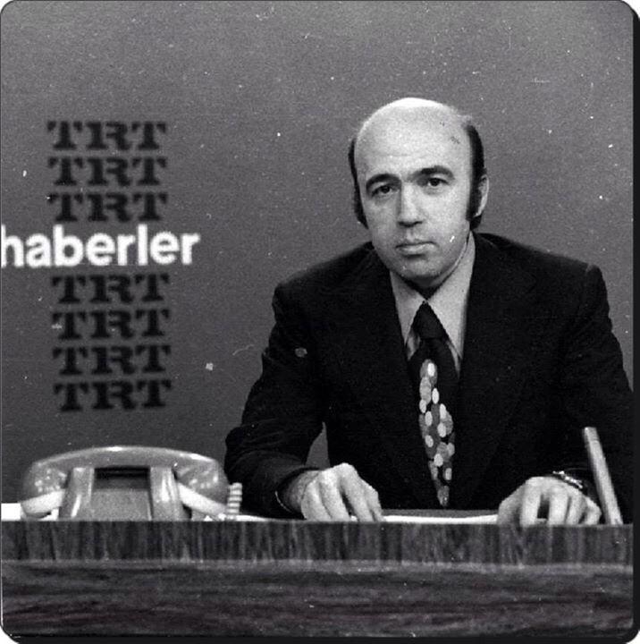 Can Akbel (TRT Haber Spikeri) (1970ler) #istanlook