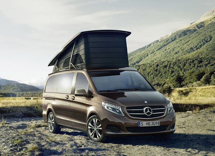 Luxury Camper Vans - Mercedes' Marco Polo is Made for Spacious, Comfortable Van Camping (GALLERY)