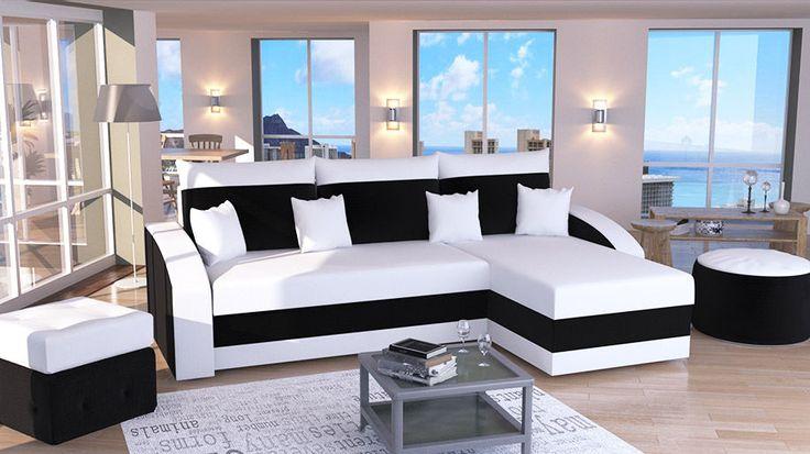 Brand new Corner sofa bed BARI ,couch with Sleep function Polska wersalka #Handmade