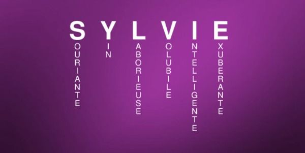Signification du prénom SYLVIE