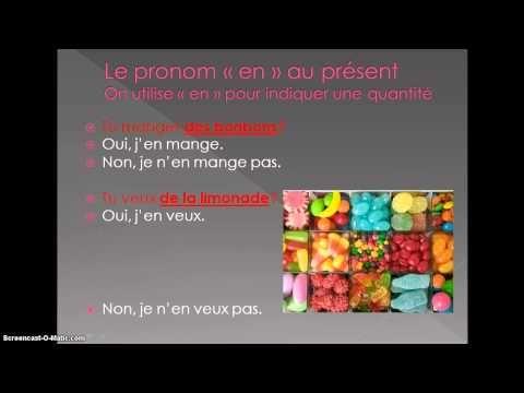 """Pratique oral: les pronoms """"y"""" et """"en"""" - YouTube"""