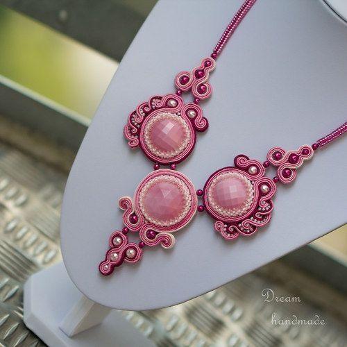 Wonderful beaded necklace